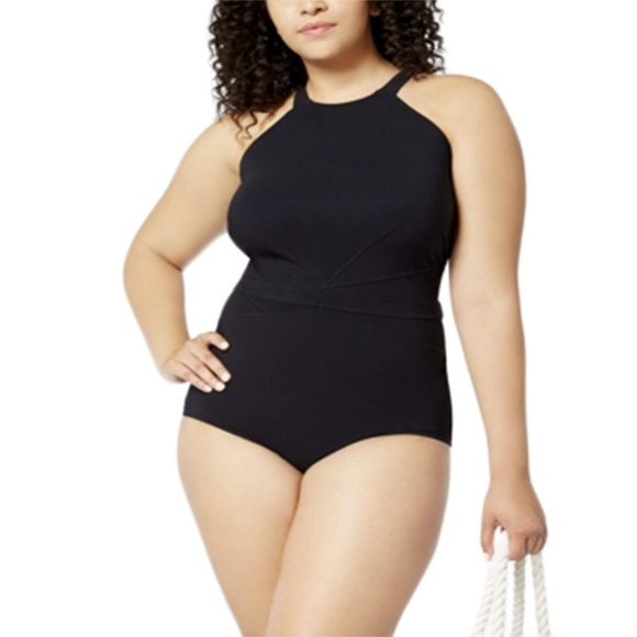 58d200ae82e1f Profile by Gottex Plus Size One-Piece Swimsuit